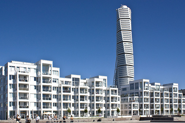 Turning Torso & White Apartments