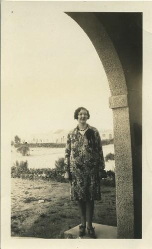 b/w vintage photo of Velma