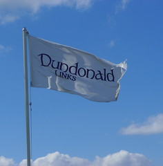 Flying in a Blue Sky (acci1005) Tags: golf scotland chamber links ayrshire dundonald