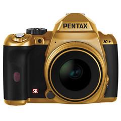 Pentax K-r in gold