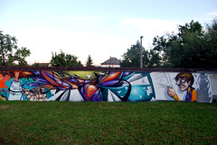 my piece (mrzero) Tags: school wall graffiti 3d style cans hepi mrzero sior bki