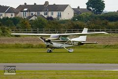 G-BREZ - 172-66742 - Private - Cessna 172M Skyhawk II - Duxford - 100905 - Steven Gray - IMG_5853