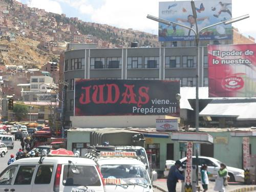 Judas viene