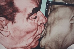 My God, help me to survive this deadly love (Chiara Cremaschi) Tags: berlin wall kiss honecker brezhnev