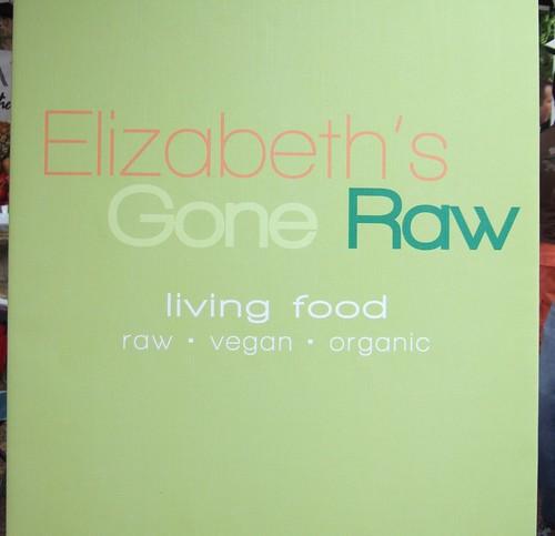 Veg Fest Elizabeth's Gone Raw