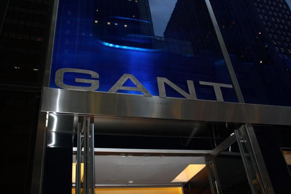 Gant-sign