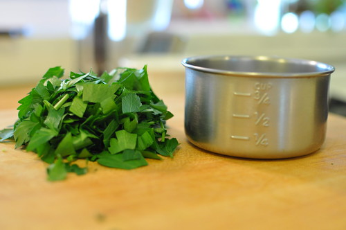 parsley measure