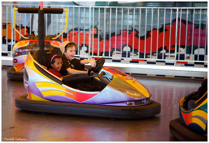 County Fair bumper cars2
