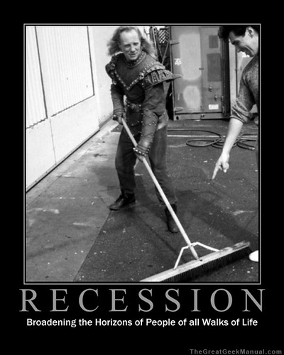 Motivational Poster: Recession