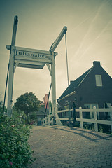 Marken (digital_slice) Tags: netherlands canon vintage 350d culture september brug juliana marken 2010