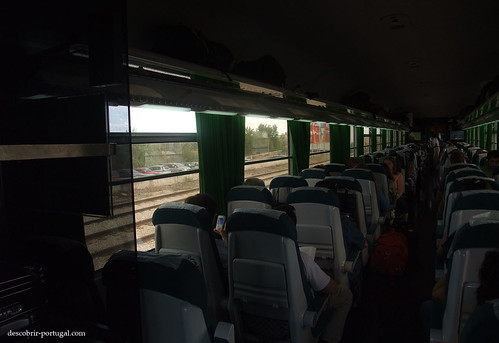 Inside a passengers wagon