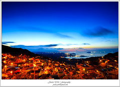 _MG_2521 (Justin1006 (Justin Yeh )) Tags: sunset night twilight taiwan  taipei      jiufen    rueifangtownship