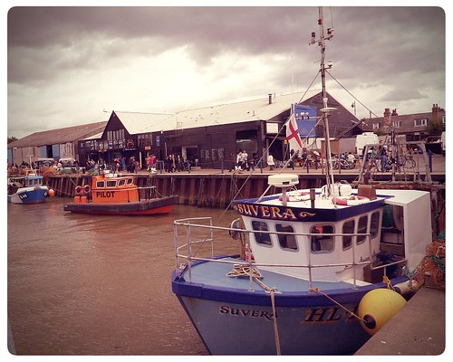 Whitstable ~ fishing boats in the harbour