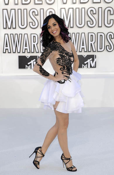 Katy Perry MTV VMA 10
