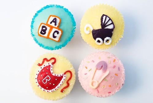 Cupcakes of hummingbirdbakery