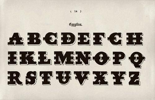 003-Alfabeto egipcio-Examples of Modern Alphabets… 1913- Freeman Delamotte