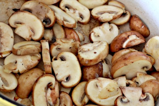 Blueberry & Mushroom Pot Roast