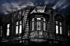 Ksrtethz_IMGP5113 (jobcibi) Tags: sky house dark spider hungary ghost budapest ruin nightmare pk rom g magyarorszg hz ksrtet ksrtethz