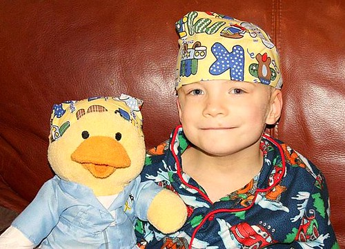 alex and chemo duck