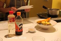 南瓜煮物的備料
