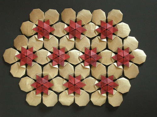 Hexagonal celtic quilt, opus XVII