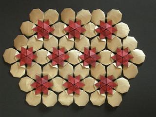 Hexagonal celtic quilt, opus XVII