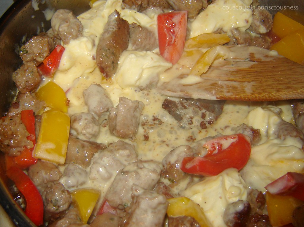 Pasta with Sausage & Peppers 2, edited