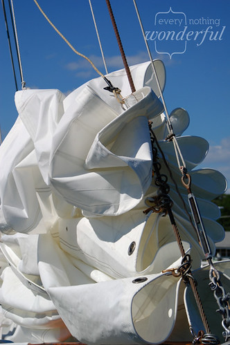 Crumpled Sail