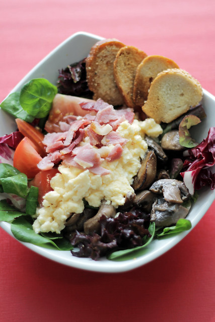 English breakfast Salad
