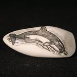 "<b>Whale Tooth</b><br/> Unknown, Eskimo American (ivory, ca. 1975) LFAC#2008:01:29<a href=""http://farm5.static.flickr.com/4130/4996388101_f3663bc744_o.jpg"" title=""High res"">∝</a>"