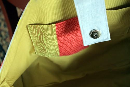 pieced pocket