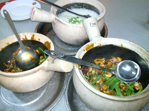 Kung-pow Frog & Porridge