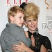Alex McCord and son at the Mercedes-Benz IMG New York Fashion Week Spring/Summer 2011 - SACHIKA Ready-To-Wear at Elle Magazine's Style360 Event