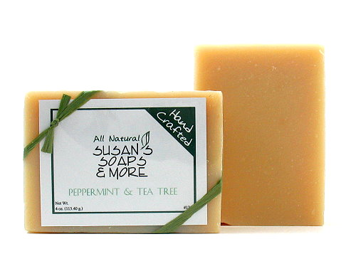 Peppermint-Tea-Tree-Soap