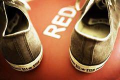 Communist (Michael Brooking Photography) Tags: california red usa blur west basketball zeiss 35mm shoe star riot nikon war kill all peace dof tracy east canvas communist tennis converse carl taylor chuck russian chucks distagon carlzeiss d700 sovit michaelbrookingphotography