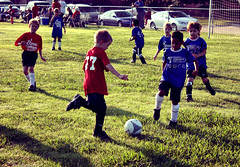First Soccer Game : Shot 2