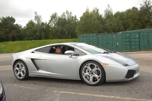 Lamborghini Gallardo Driving