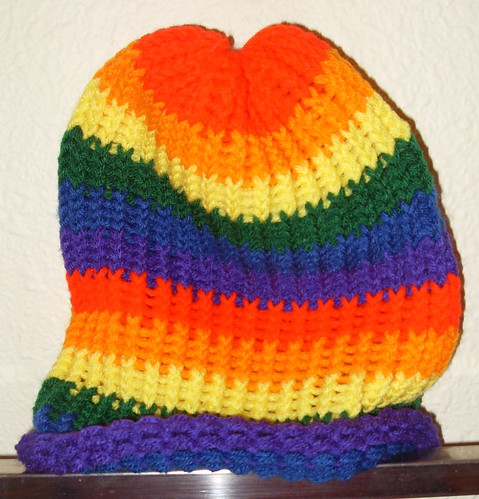 rainbow beanie medium stripes 1