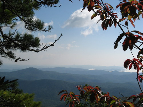 Blue Ridge Mountains from Hawksbill Trail