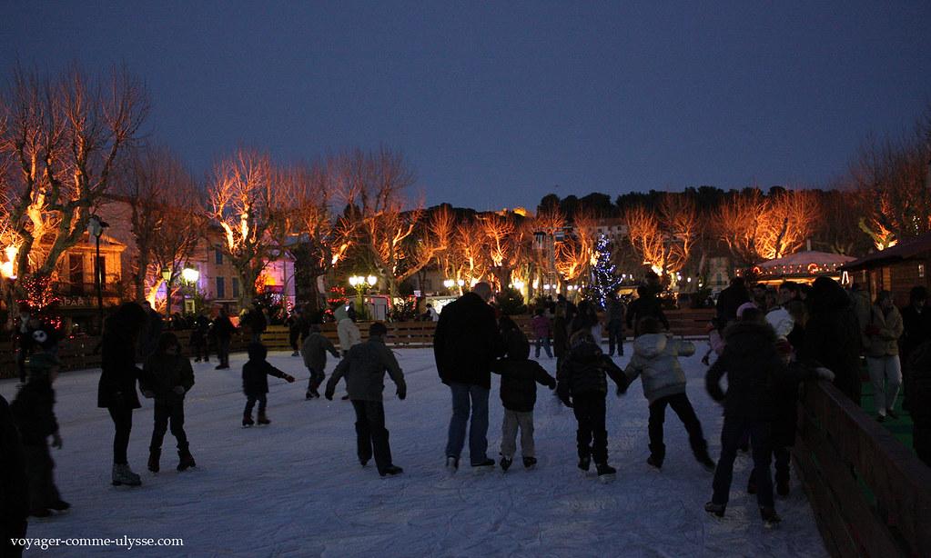 Faire du patin à glace à Saint Tropez