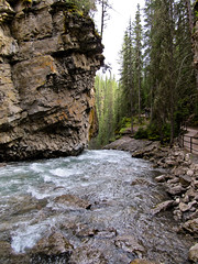 river (Bolt of Blue) Tags: river alberta canadianrockies johnstoncanyon