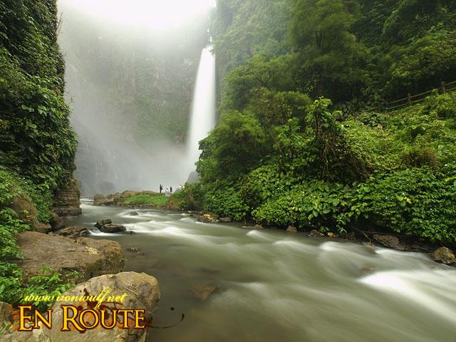 Lake Sebu Falls and River flow