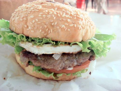 Lamb Burger at SS2 Wai Sik Kai