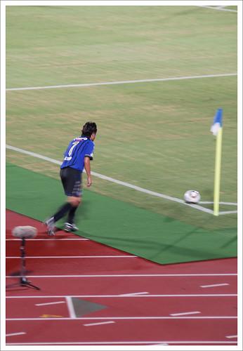 遠藤保仁コーナーキック@ガンバ大阪 VS セレッソ大阪