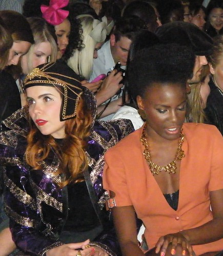 Paloma Faith and Shingai Shoniwa
