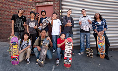 Sunset Skate kids (Chris Arnade) Tags: newyorkcity brooklyn sunsetpark skatekids chrisarnade