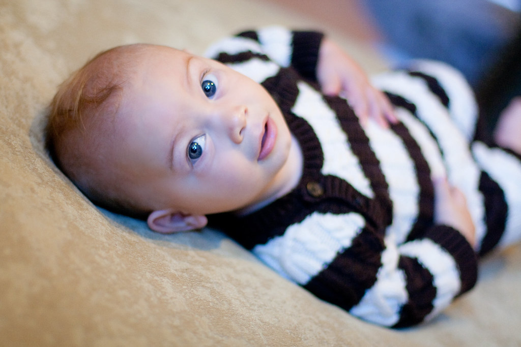 Brayden in my favorite knit