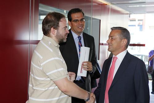 Paulino Rivero inaugura las I Jornadas de AERCO