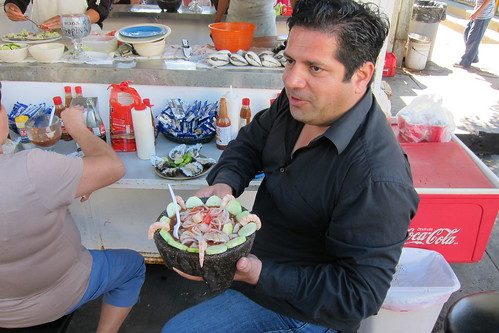 Tijuana Food Marathon: Bill Esparza Samples Ceviche