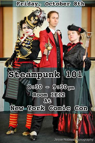 NYCC / NYCAF Steampunk 101